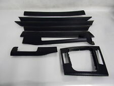 #M21507 BMW 320I SPORT E46 03 INTERIOR TRIM SET BLACK CUBE