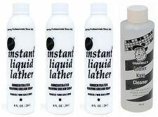 3 Gabels 8 oz Instant Liquid Lather & 1 Campbell's 8 oz Lather King Cleaner