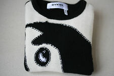 RYKIEL ENFANT BABY WOOL KNITTED EMBELLISHED SWEATER 24 MONTHS