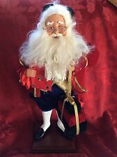 """Exceptional Visions Of SANTA 2005 School Master Nearly 19"""" Christmas DECORATION"""