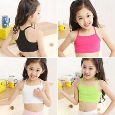 Summer Kids Girls Camisole Vest Baby Children Crop Tank Tops Tube Beach Clothes