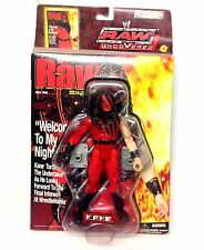 "WWF WWE Wrestling RAW UNCOVERED KANE 6"" figure UNOPENED, VERY RARE"