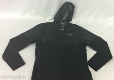 Under Armour MEN'S Athletic Jacket Storm Windbreaker Black Print Size M