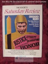 Saturday Review February 12 1972 RALPH NADER FAUBION BOWERS CHARLES MCCARRY