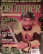 MODERN DRUMMER MAGAZINE SEPTEMBER 1998 CARTER BEAUFORD