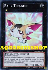 Yu-Gi-Oh! Baby Tiragon NUMH-IT051 SuperRara in ITA Fortissima Carta Zexal  Nuova