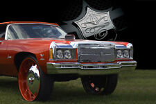 1974 Chevy Caprice chrome mesh grille grill old school 1 piece