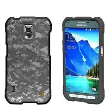 For Samsung Galaxy S5 ACTIVE Snap On Image Slim Fitted ARMY CAMO Case