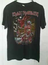 Iron Maiden Somewhere In Time vintage tour shirt 1986 LARGE