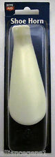 White Plastic Shoe Horn, Short