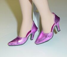 Doll Shoes, 48mm Easy to Wear for Tyler - Metallic Dark Pink
