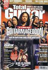 METALLICA / TRIVIUM / BULLET FOR MY VALENTINE Total Guitar + CD no. 152 Aug 2006