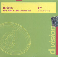 B-Fonic Feat Ana Flora - Fe' D:Vision 5 Tracks CD NUOVO