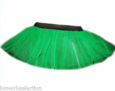 NEON TUTU SKIRT 3 LAYERS PLUS SIZE FANCY Dress 80s Accessories HEN PARTY FUN RUN