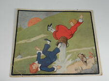 Vintage Little Tots' Nursery Tunes Story Card - JACK AND JILL