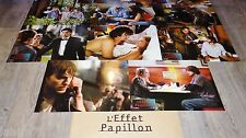 L' EFFET PAPILLON  ! Ashton Kutcher  jeu photos cinema lobby cards fantastique
