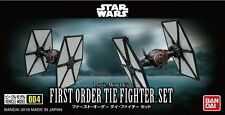 Star Wars Modellbausatz First Order TIE Fighter Set von Bandai