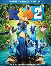 RIO 2 (Blu-ray and DVD,2014,)