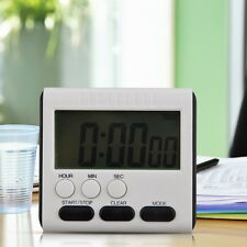 Magnetic Kitchen Clock Digital LCD Cooking Timer Count Down Up Clock Loud Alarm