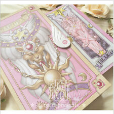 56 Piece Card Captor Sakura Cards With Pink Clow Magic Book Set New in Box Cute
