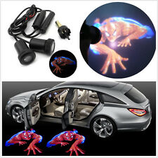 Car SUV Logo Door Decoration Light Spiderman Shadow LED Welcome Laser Projector