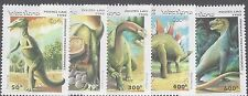 Laos Fun, Scott # 1208-12 MNH, Dinosaurs