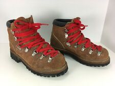 Women's Vintage Mountaineering Hiking Boots Hanover Vibram USA Size 8