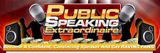 Guía de extraordinario creador de perfiles hablar en público en CD, bodas, mejor hombre discurso, Marketing