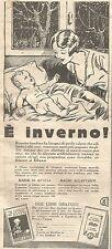 W4088 GLAXO - E' inverno! -  Pubblicità del 1930 - Vintage advertising