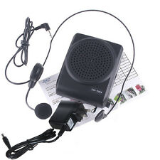 Mini 8 Multi Voice Changer Microphone Megaphone Loudspeaker For Phone PC Black