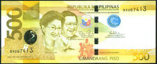 PHILIPPINES   500   PISO  2012   P 210 NEW   Prefix BX  Uncirculated Banknotes