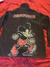 NWT DISNEY MICKEY MOUSE Brown Mens Corduroy Jacket Coat Sz XXL Quilted Lining