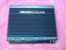 SOUNDSTREAM REFERENCE 500SX OLD SKOOL 500WRMS 2CH AMP, VGC, USA!!!