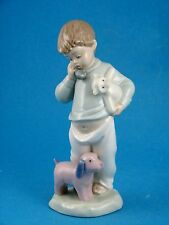 Boy on The Phone With Puppets - NAO Figurine by Lladro #1044
