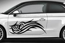 Tribal voiture corps autocollants, custom vinyle van graphic decals, choix de 16 couleurs