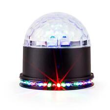 IBIZA UFO-ASTRO-BL LED LIGHT EFFECT RGB BLACK JELLYBALL DANCE FLOOR LIGHTING