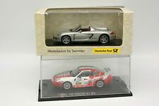 High Speed 1/43 - Lot de 2 Porsche 911 et Carrera GT