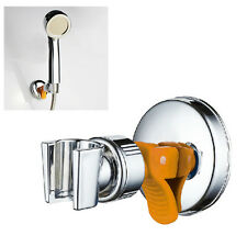 Replacement Shower Head Holder Bathroom with Suction Bracket Chrome- No Drilling