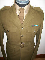 """REME MANS UNIFORM JACKET & TROUSERS BRITISH ARMY  CHEST 36"""" 92CM OLD ISSUE STYLE"""