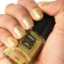 NEW! CULT Nail Polish Lacquer in STAY GOLD TOP COAT ~ GLITTER