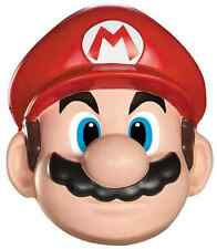 Mario Mask Nintendo Super Brothers Fancy Dress Up Halloween Costume Accessory