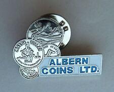 Albern Coins Calgary Alberta Canada Lapel Hat Pin