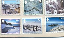 Isle of Man Christmas Scenes (2010) mnh set