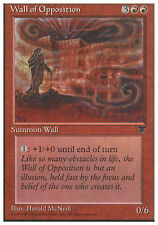 4x Wall of Opposition MTG Regular NM, English Chronicles