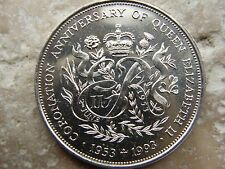 1993*UNC*BAILIWICK OF GUERNSEY 40TH ANNIVERSARY OF CORONATION £2 TWO POUND