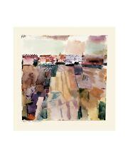 Paul Trifoglio Kairuan poster stampa d'arte immagine 34x42cm stata limitata Tunisi viaggio porto franco