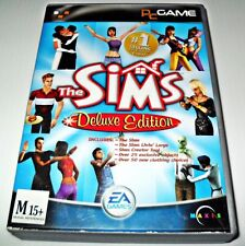 THE SIMS DELUXE EDITION WINDOWS PC GAME SIMULATION
