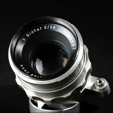 Carl Zeiss Jena Biotar 58mm f/2.0 in M42 mount