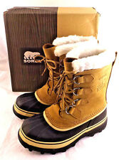 NIB SOREL Caribou Buff Winter Snow Boots Women's Sz 10 M (US) RETAIL $150