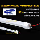 2X 50CM 12V 7020 LED STRIP LIGHT BAR CARAVAN 4WD CAMPING BOAT TENT FISHING NEW